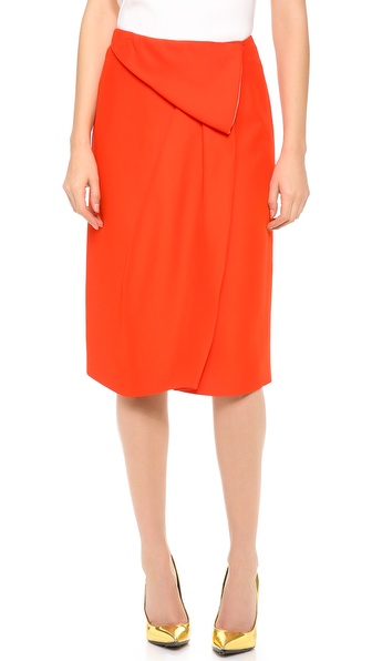 Vionnet Draped Skirt