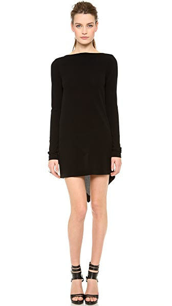 Vionnet Long Sleeve Dress