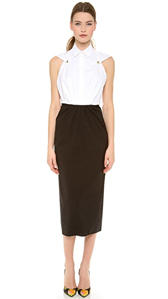 Vionnet Sleeveless Dress