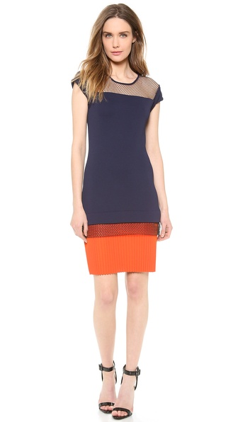 Vionnet Cap Sleeve Dress