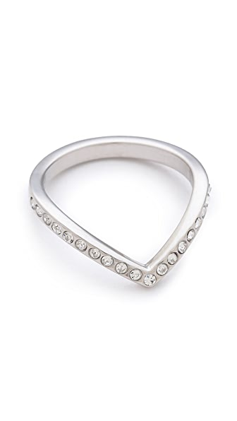 Vita Fede Mini Crystal V Ring