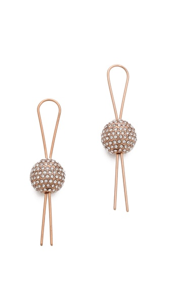 Vita Fede Filo Circle Earrings