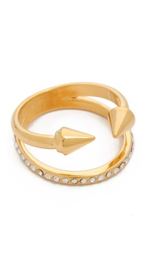 Vita Fede Titan Plain Crystal Band Ring