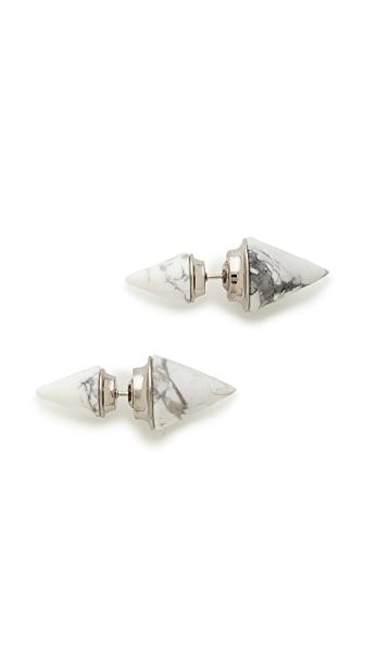 Vita Fede Double Titan Stone Earrings