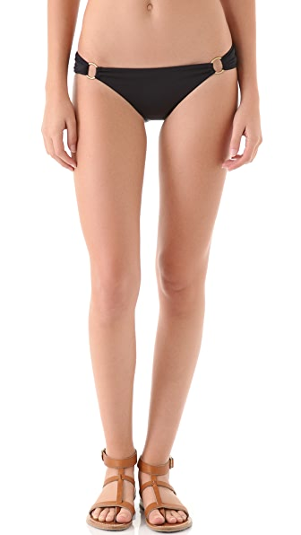 Vitamin A Cosmo Cinch Back Bikini Bottoms
