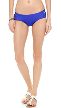 Vitamin A Chloe Triple Braid Bikini Bottoms