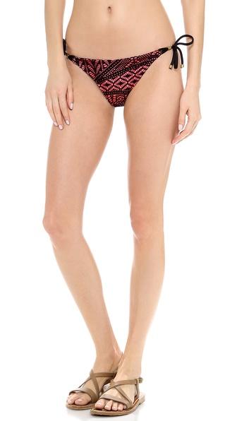 Vitamin A Gwyneth Side Tie Bikini Bottoms