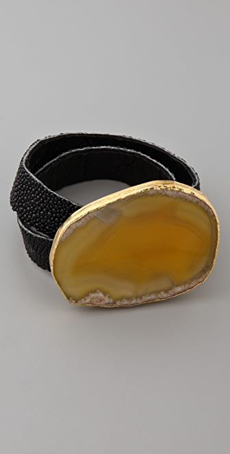 Vita New York Stingray Wrist Belt Bracelet
