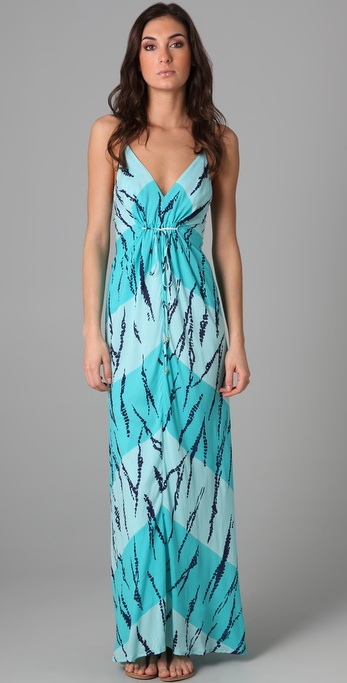 Vix Swimwear Batik Long Cover Up Dress