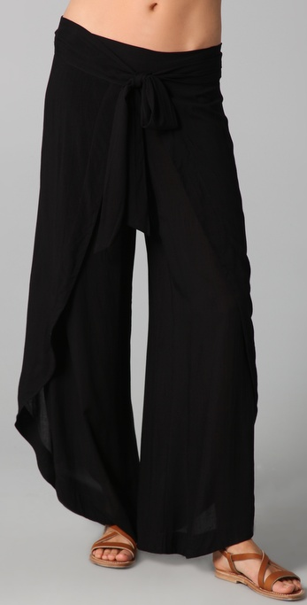 Vix Swimwear Solid Long Pants