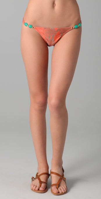 Vix Swimwear Mali Detail Bikini Bottoms