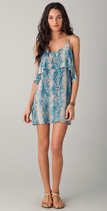 Vix Swimwear Safari A Line Dress