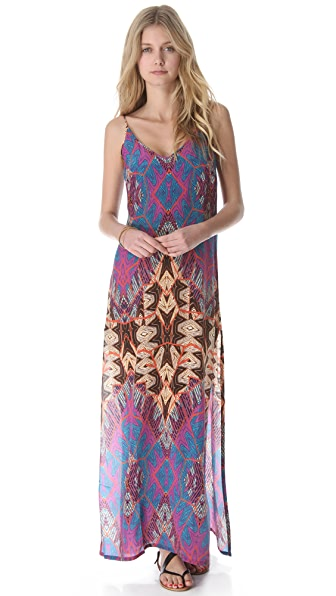 ViX Swimwear St. Martin Vicky Cover Up Maxi Dress
