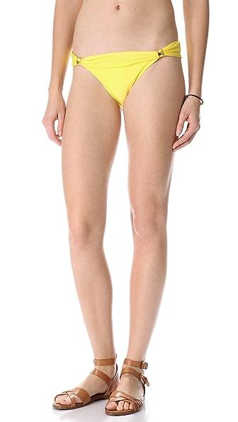 Vix Swimwear Solid Bikini Bottoms