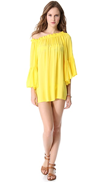 Vix Swimwear Solid Judy Cover Up Dress