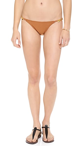 ViX Swimwear Solid Copper Bikini Bottoms