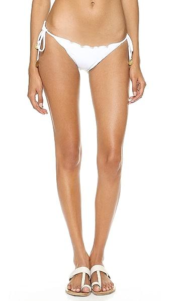 Vix Swimwear Sofia by Vix Ripple Tie Side Bikini Bottoms