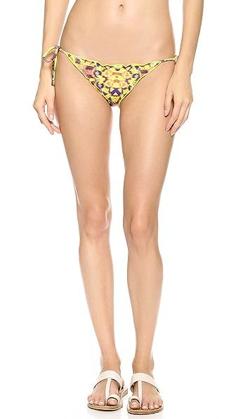 ViX Swimwear Isis Ripple Tie Side Bikini Bottoms