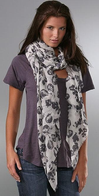 virginia johnson leaves scarf shopbop
