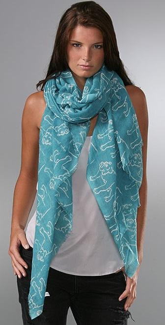 virginia johnson bulldog scarf shopbop