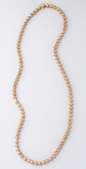 Vanessa Mooney African Bicone Necklace
