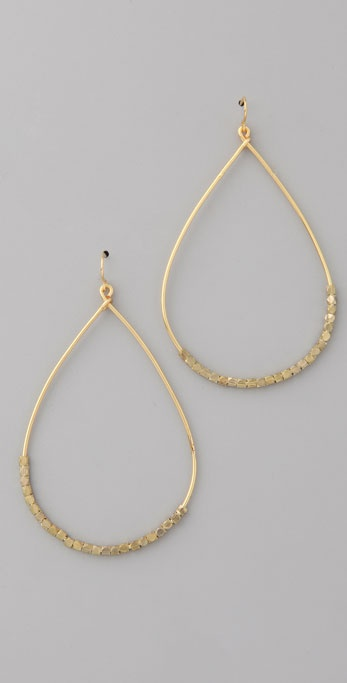 Vanessa Mooney Nugget Teardrop Earrings