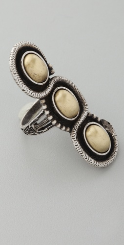 Vanessa Mooney Brass Serpent Ring