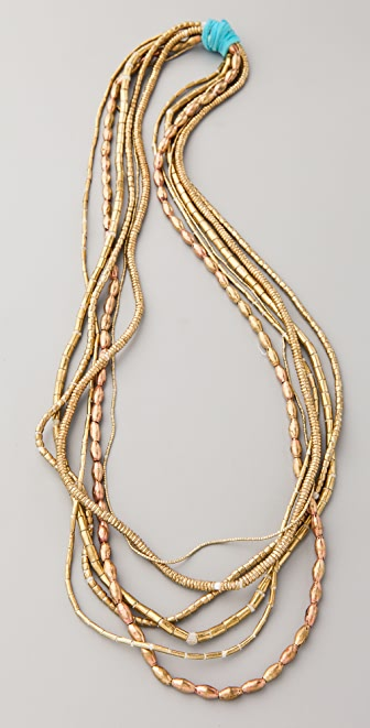 Vanessa Mooney African Strings Necklace