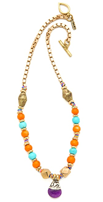 Vanessa Mooney Bailey Moon Necklace