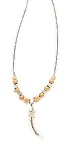 Vanessa Mooney Brooklyn Tooth Necklace