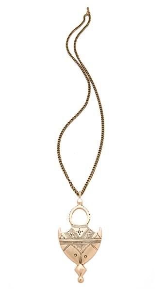 Vanessa Mooney Shield Me Necklace