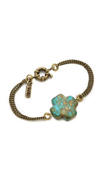 Vanessa Mooney Mosaic Cross Bracelet