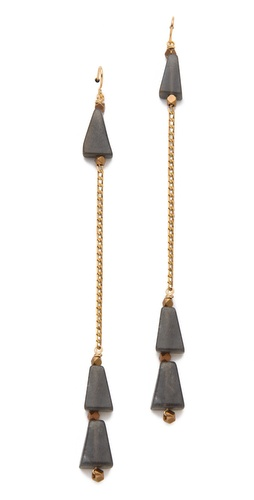Shop Vanessa Mooney The Coba Dangle Earrings and Vanessa Mooney online - Accessories,Womens,Jewelry,Earring, online Store