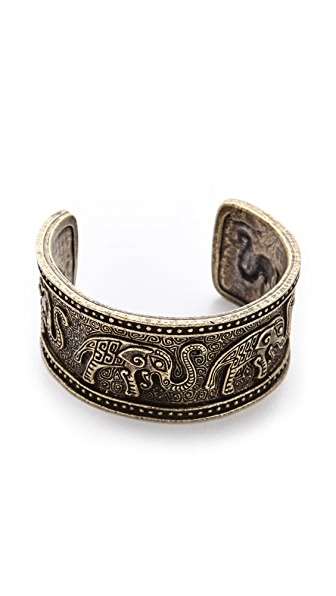 Vanessa Mooney Forget Me Not Elephant Cuff