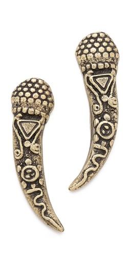 Vanessa Mooney Mystic Tiger Earrings