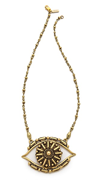 Vanessa Mooney Rocker Eye Necklace