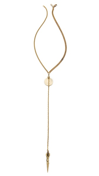 Vanessa Mooney La Vida Boheme Rosary Necklace