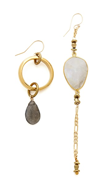 Vanessa Mooney Rocksteady Mixed Earrings