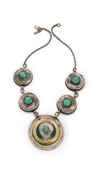 Vanessa Mooney The Malthus Statement Necklace