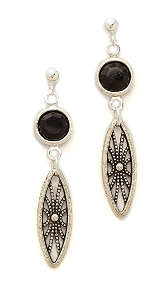 Vanessa Mooney The Legends Crystal Earrings