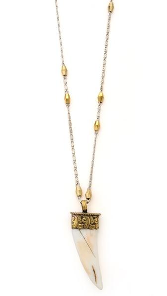 Vanessa Mooney The Khumbu Tooth Necklace