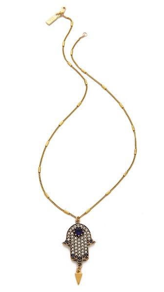 Vanessa Mooney The Fatima Pendant Necklace