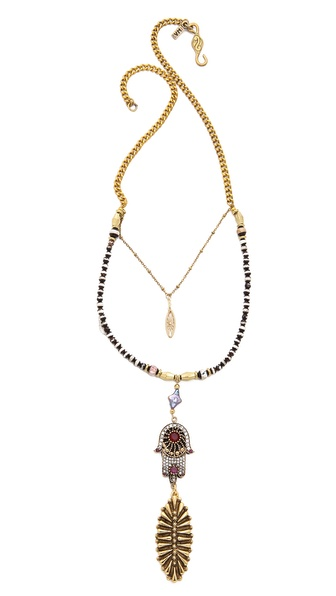 Vanessa Mooney The Fatima Statement Necklace