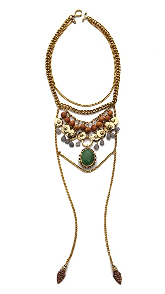 vanessa mooney the flame statement necklace shopbop