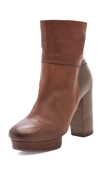 Vic Matie High Heel Platform Booties