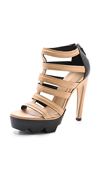 Vic Matie Cutout Sandals