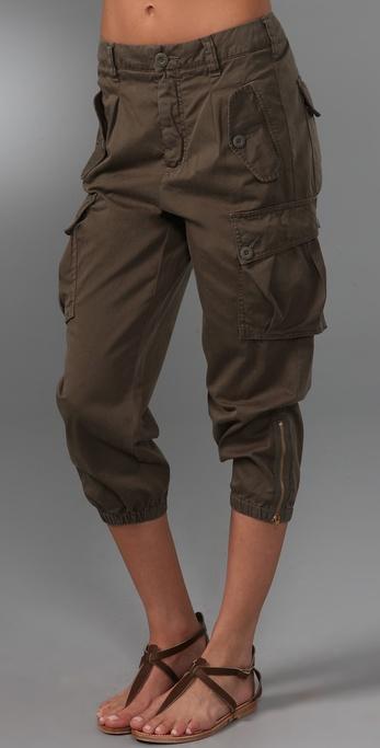 Vince Denim Cargo Pants