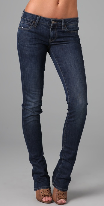 Vince Denim Long Baby Bell Jeans