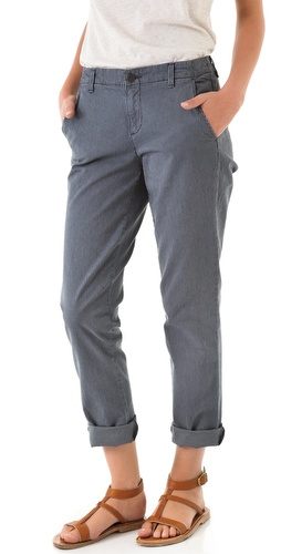 Vince Denim Relaxed Trousers