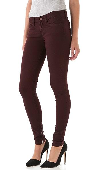 Vince Denim Zip Legging Jeans